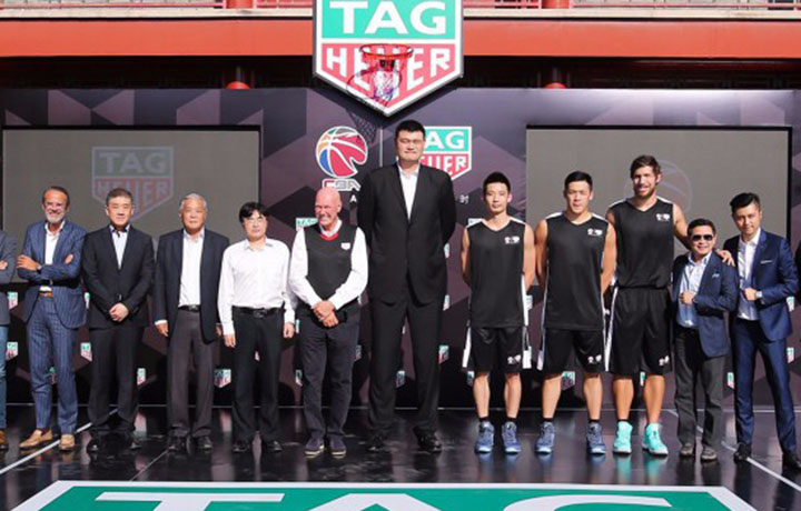 中国男子篮球职业联赛进入TAG Heuer泰格豪雅时间