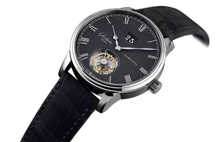 格拉苏蒂原创——议员陀飞轮腕表