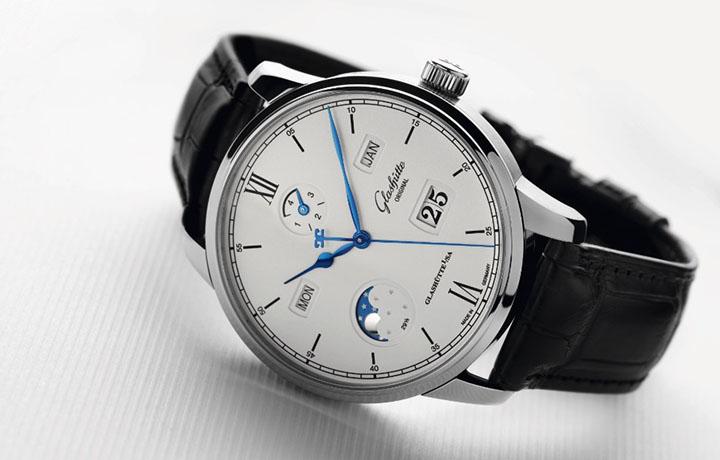 格拉苏蒂原创——议员卓越万年历腕表