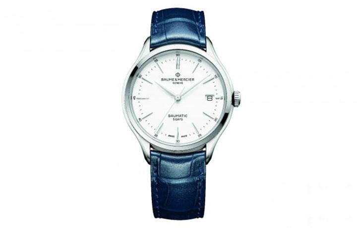 名士推出全新五款搭载Baumatic™机芯的克里顿系列腕表