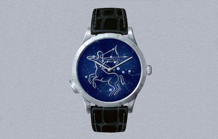 梵克雅宝Midnight Zodiac Lumineux 诗意复杂功能腕表