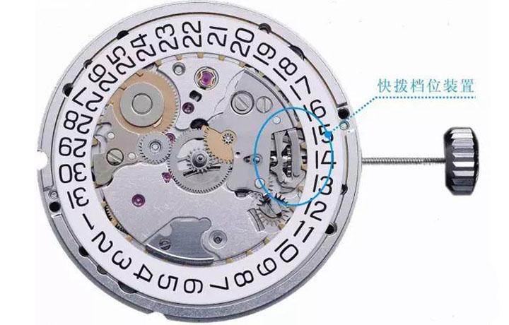 机械腕表常见的几种离合结构介绍