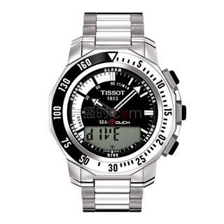绿色智能出行,天梭运动系列手表腾智系列太阳能腕表
