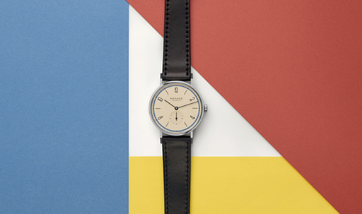 致敬包豪斯 NOMOS  Tangente33包豪斯百年限量版腕表