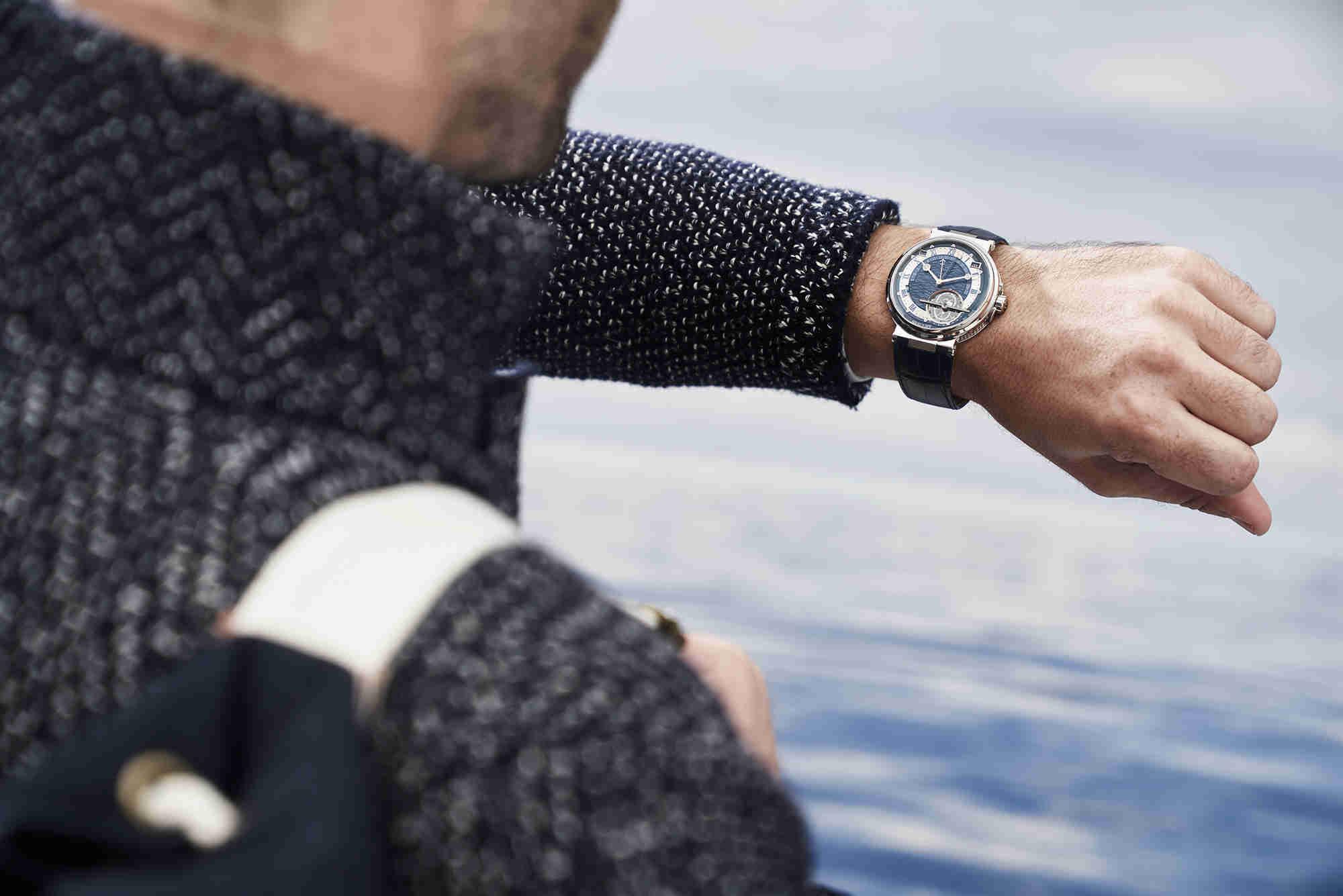 宝玑Marine航海系列腕表