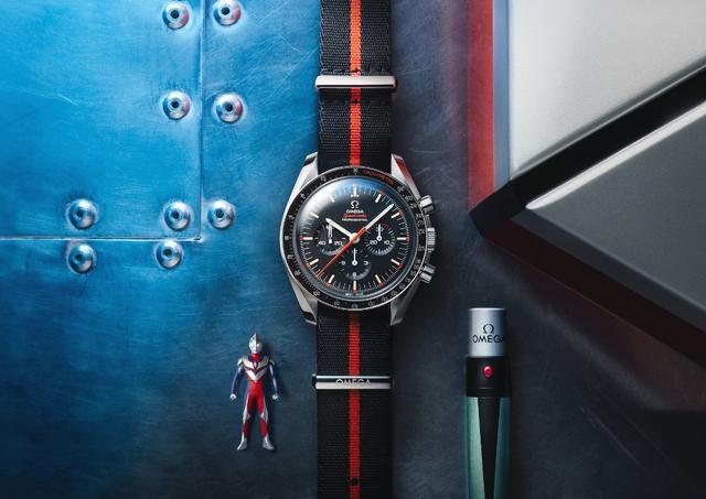 欧米茄超霸系列奥特曼腕表 致敬日漫英雄的典型代表款