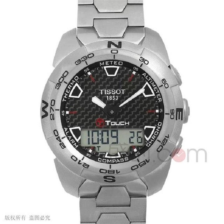 在触屏手表里天梭高科技触屏系列价格贵不贵
