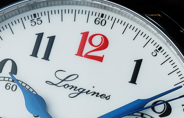 """浪琴╳盛时""""红12导柱轮单按钮计时秒表""""联名纪念套装"""