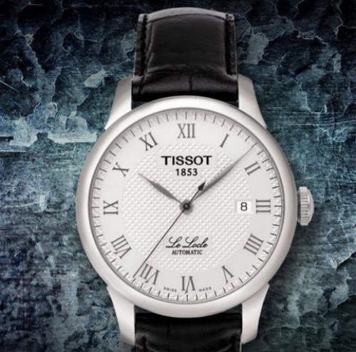 天梭力洛克系列T41.1.423.33腕表优雅大方  气质非凡