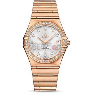 欧米茄镶钻金表 一款更适合成功人士的腕表!