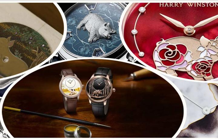 考验大牌设计功力,猪年限定腕表欣赏
