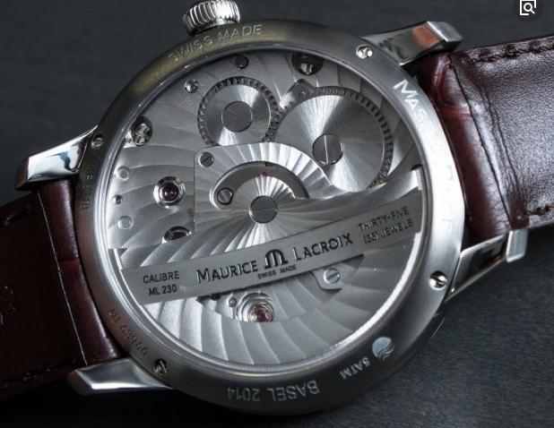艾美机械男款手表:从零件厂变成世界级手表品牌!