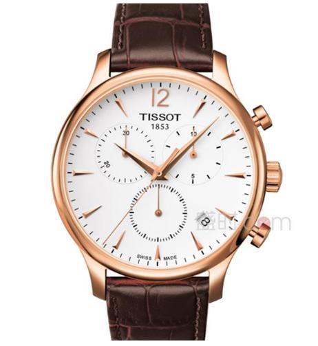 天梭手表的款式那么多,俊雅系列值得购买