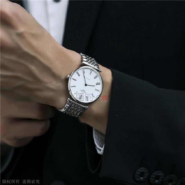 """浪琴超薄男士手表,满足你对""""薄""""的幻想~"""