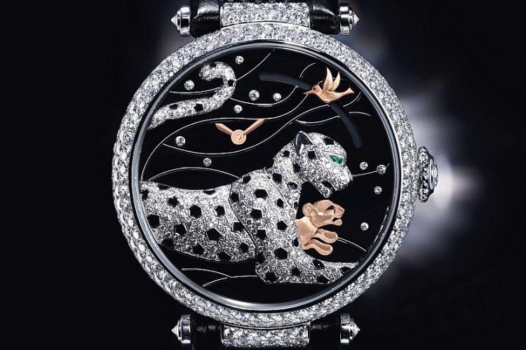 经典不败的卡地亚美洲豹系列腕表展现超凡珠宝工艺