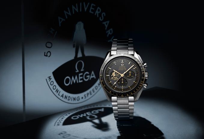 """欧米茄发布超霸系列""""阿波罗11号""""50周年纪念限量版腕表"""