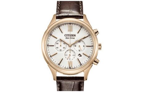 西铁城手表图片,感受光动能腕表魅力