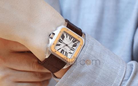 卡地亚的手表,同样有无限惊喜