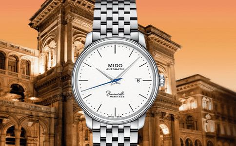 mido手表推荐,感受独特美学设计