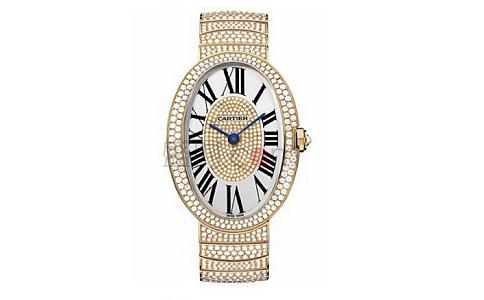 卡地亚钻石手表,展现魅力的珍品
