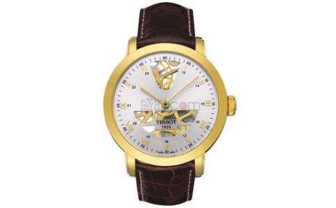天梭镂空手表 藏于设计之下的秘密