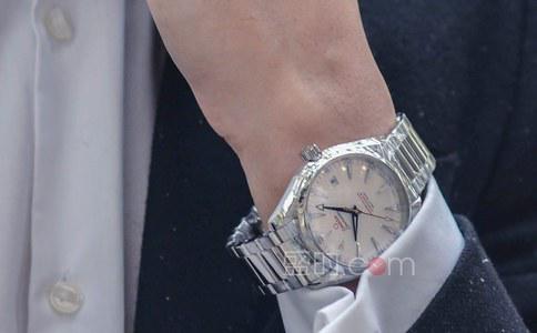 欧米茄透明手表之透明表底