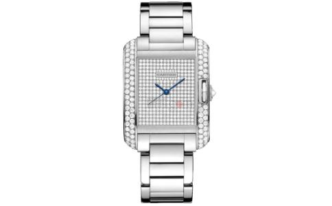 卡地亚满钻手表 时尚与典雅的代表