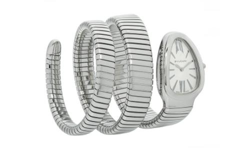 宝格丽官方蛇形手表