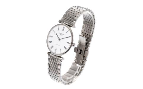 透明的浪琴表后盖 换个角度看腕表