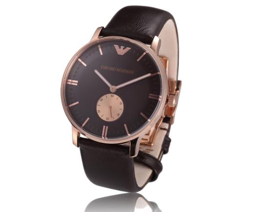 阿玛尼男士手表,引领时装表的弄潮儿