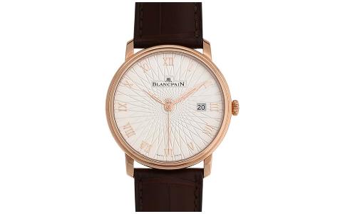 宝珀的6651,VILLERET系列的经典腕表