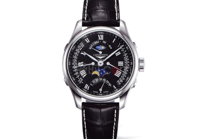 浪琴月相--一款汇集了高颜值,多功能的腕表
