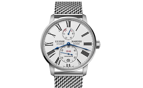 手表几点不能调时间?
