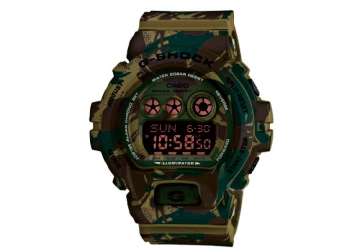 卡西欧迷彩手表价格要注重实际的要求