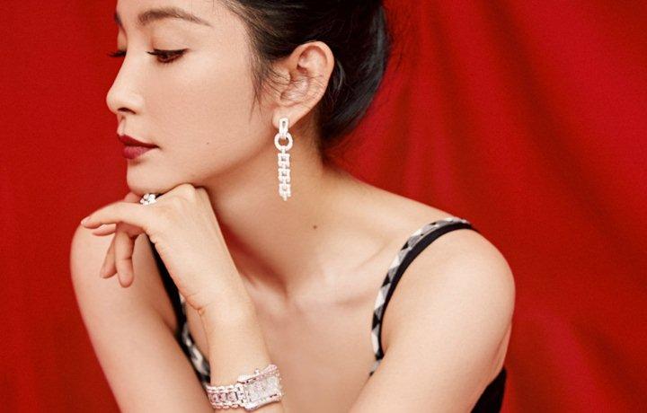 寶齊萊攜李冰冰出席第32屆中國電影金雞獎
