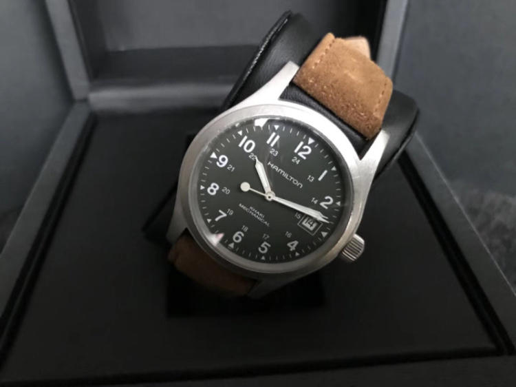 新买的汉米尔顿手表怎么启动?