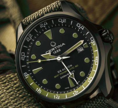 金华哪里可以买到雪铁纳手表?绿贝雷可以吗?