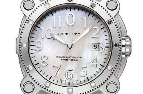 女士铂金汉米尔顿钻石手表在哪里可以买到?