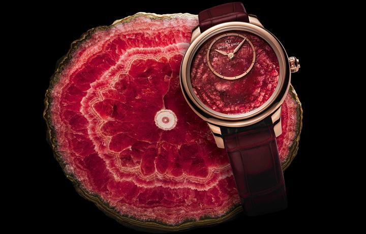 腕间的时光幸运符,雅克德罗以矿石美学呈现寰宇之美