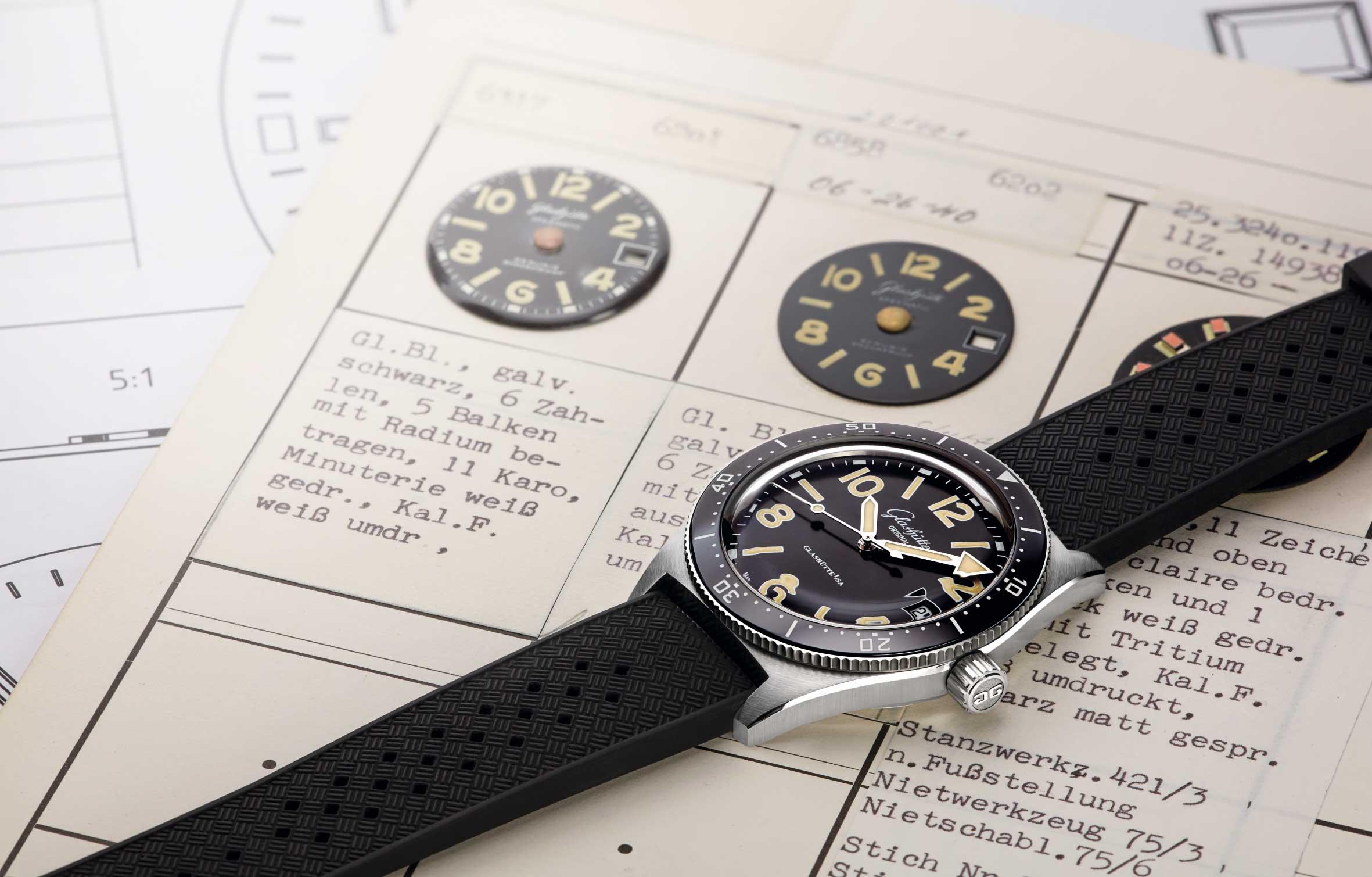 全新表盘,专为潜水表而作——Glashütte Original 格拉苏蒂原创卓越工艺,打造SeaQ腕表专属表盘