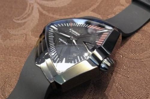 正品汉米尔顿猫王手表怎么上发条?