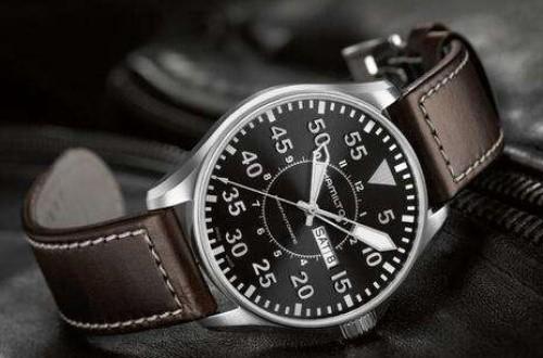 汉米尔顿卡其野战手表,让大家体验一把军用手表感觉
