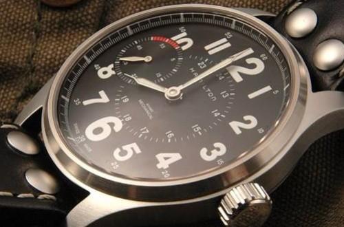 汉米尔顿手动上弦手表调时间麻烦吗?