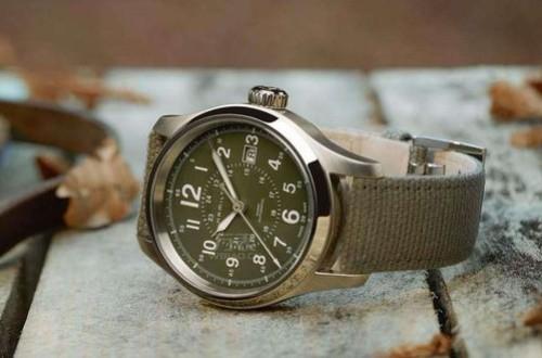 汉米尔顿蛙人手表,卡其系列潜水手表