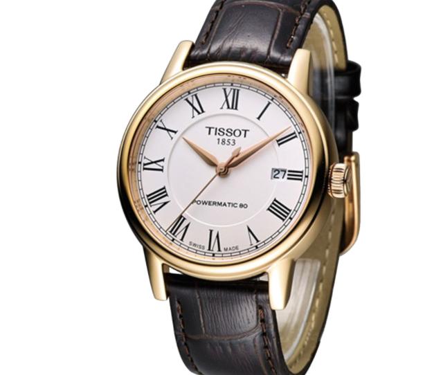天梭手表t024417a公价,古老手表不同的感觉