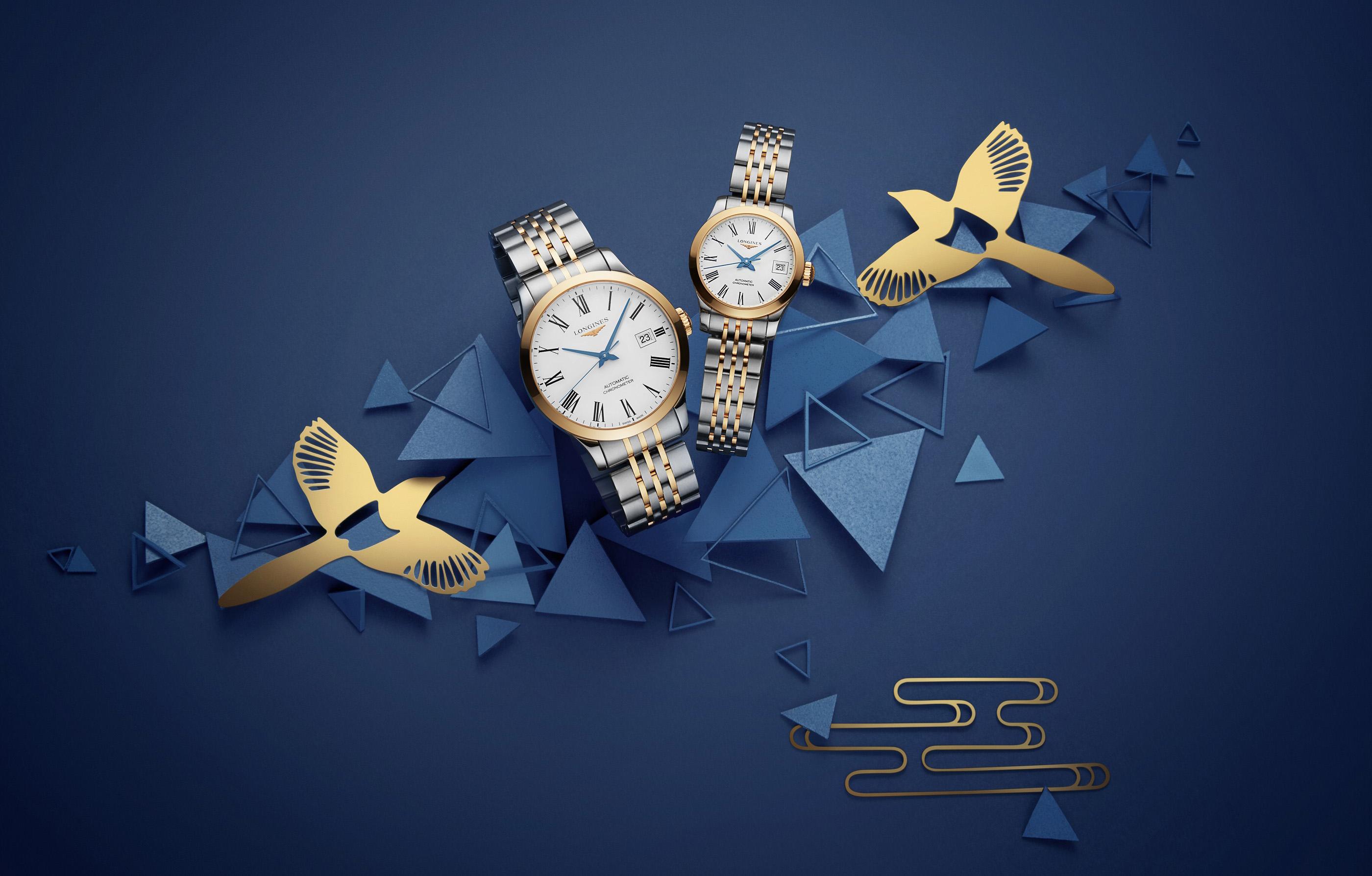 點時成金,優雅開年 浪琴表甄選時計,禮獻新春