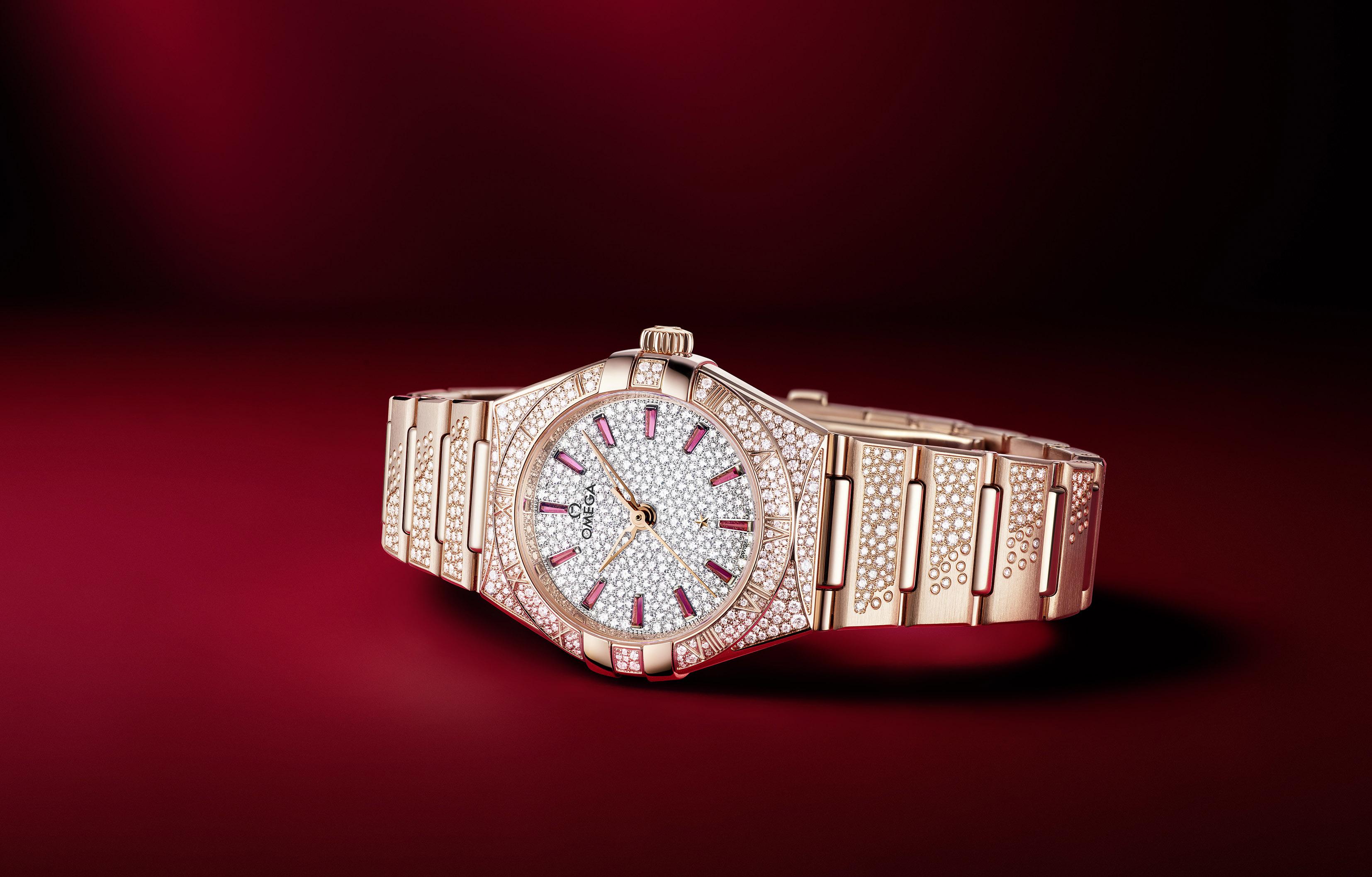 歐米茄全新珠寶腕表  讓星座系列更加熠熠生輝