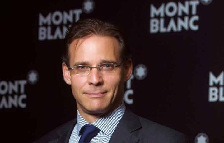 MONTBLANC万宝龙钟表部门董事总经理 Alexander Schmiedti
