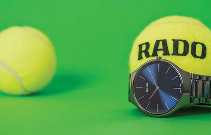 RADO瑞士雷达表以TRUE THINLINE真薄系列腕表致敬网球运动 卓著风格挥洒赛场内外