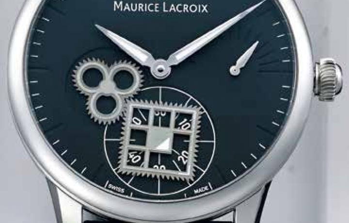 艾美 MAURICE LACROIX Roue-Carrée-Seconde方形齿轮腕表
